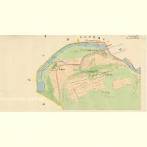 Bystržitžka - m0318-1-001 - Kaiserpflichtexemplar der Landkarten des stabilen Katasters