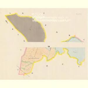 Przeseka - c6205-1-001 - Kaiserpflichtexemplar der Landkarten des stabilen Katasters