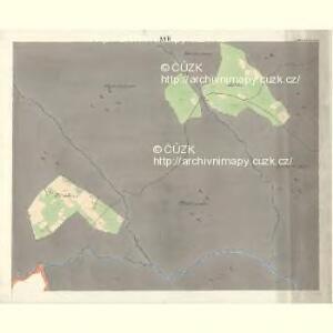 Ostrawitz - m2189-1-014 - Kaiserpflichtexemplar der Landkarten des stabilen Katasters