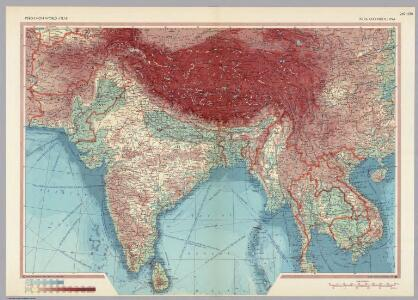 India and Indochina.  Pergamon World Atlas.