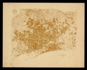 Plano de Barcelona: para graficos / Servicio del Plano de la Ciudad