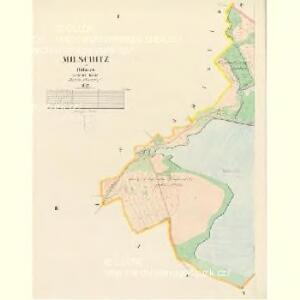 Milschitz - c4640-1-001 - Kaiserpflichtexemplar der Landkarten des stabilen Katasters
