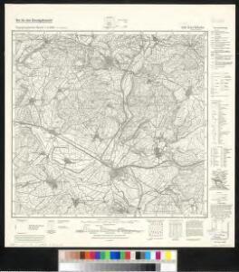 Meßtischblatt 5119 : Kirchhain (Hessen-Nassau), 1942