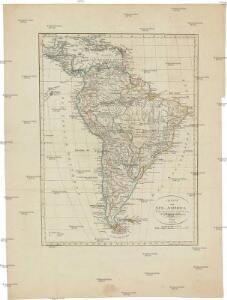 Charte von Süd-America