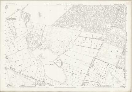 Cheshire XL.6 (includes: Delamere; Little Budworth; Marton; Oakmere) - 25 Inch Map