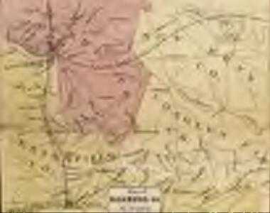 Map of the Seat of War: Map of the Vicinity of Richmond