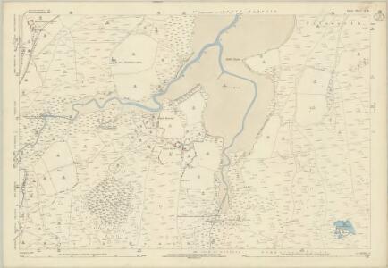 Dorset L.11 (includes: Arne; Corfe Castle) - 25 Inch Map