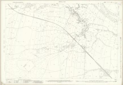 Yorkshire V.14 (includes: Cotherstone; Hunderthwaite; Marwood) - 25 Inch Map