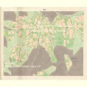 Ober Beczwa (Horny Bečwa) - m0763-1-014 - Kaiserpflichtexemplar der Landkarten des stabilen Katasters