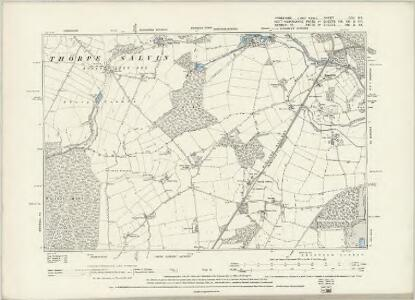 Yorkshire CCXCVIII.NE - OS Six-Inch Map