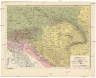 Floren-Karte von Österreich-Ungarn