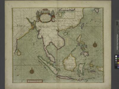 A chart of the eastermost part of the EAST INDIES and CHINA, from cape comarine to IAPAN, with all adjacent Islands