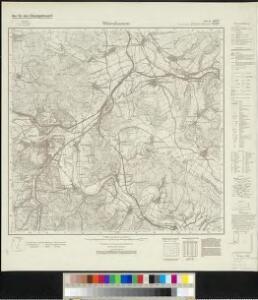 Meßtischblatt 2667, neue Nr. 4625 : Witzenhausen, 1937
