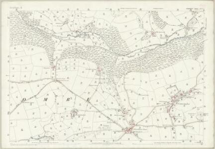 Somerset XLVI.7 (includes: Cutcombe; Timberscombe) - 25 Inch Map