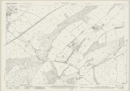 Shropshire LVI.16 (includes: Eaton Under Haywood; Munslow; Rushbury) - 25 Inch Map