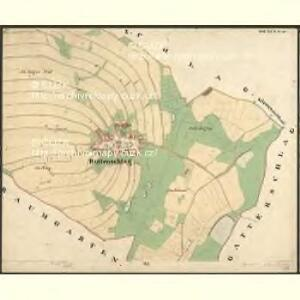 Ruttenschlag - c2379-1-001 - Kaiserpflichtexemplar der Landkarten des stabilen Katasters