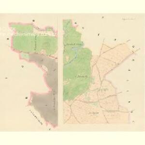 Rothporitschen (Czerwena Porzicz) - c0927-1-001 - Kaiserpflichtexemplar der Landkarten des stabilen Katasters