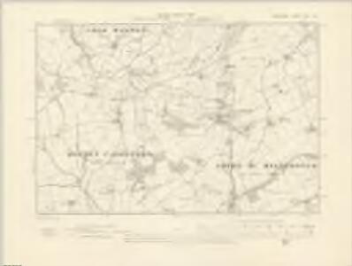 Shropshire LXXII.NW - OS Six-Inch Map