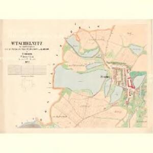 Wtschelnitz - c5204-2-001 - Kaiserpflichtexemplar der Landkarten des stabilen Katasters