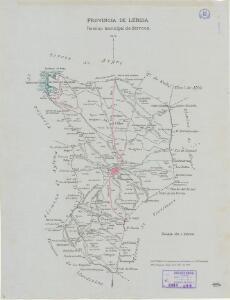Mapa planimètric de Sarroca de Lleida