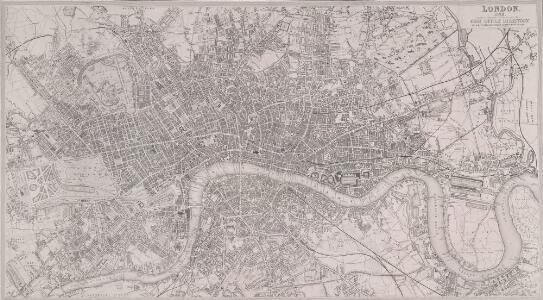 LONDON 1849 DRAWN & ENGRAVED EXPRESSLY FOR THE POST OFFICE DIRECTORY