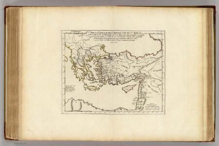 Colonia Romana, Tabula Geographica Provinciarum et Urbium.