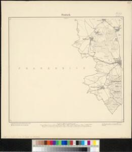 Meßtischblatt [6601] = [3533] : Fentsch, 1882