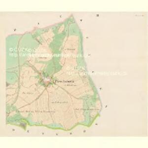 Pleschowitz - c5830-1-002 - Kaiserpflichtexemplar der Landkarten des stabilen Katasters