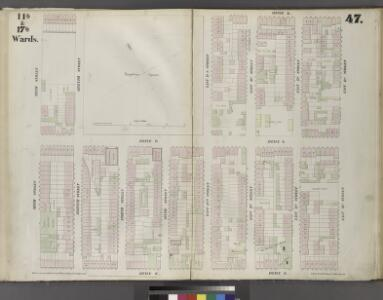 Plate 47: Map bounded by East 13th Street, Avenue C, Sixth Street, Avenue A.