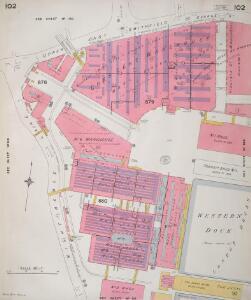 Insurance Plan of London Vol. V: sheet 102