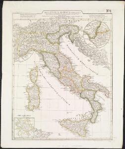 Tabula Italiae antiquae geographica, quam excellentissimus dominus Dex de la Rochefoucauld in oere incidi curavit