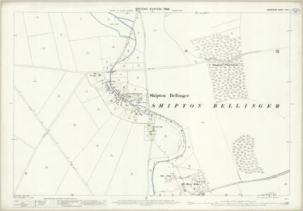 Hampshire and Isle of Wight XXII.7 (includes: Shipton Bellinger) - 25 Inch Map