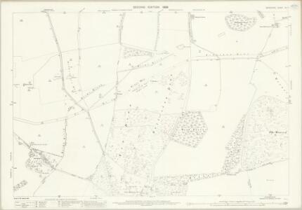Berkshire XX.7 (includes: Ardington; Farnborough; Lockinge; Wantage) - 25 Inch Map