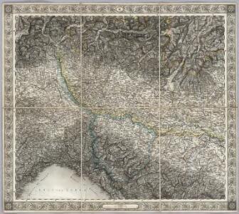 Sheet XI: Karte Des Oesterreichischen Kaiserstaates.