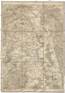 Special Carte des Rheinlaufes von Speier bis Bingen nebst den angraentzenden Gegenden von beiden Ufern bis an die Gebirge