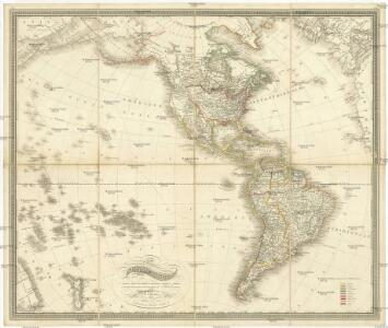 Carte de Amerique