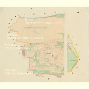 Louzna - c4262-1-002 - Kaiserpflichtexemplar der Landkarten des stabilen Katasters