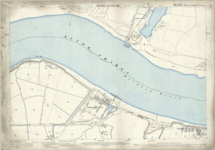 Kent II.4 (includes: Barking; Dagenham; Erith) - 25 Inch Map