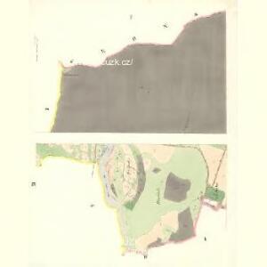 Rožnau (Rožnow) - m2628-1-001 - Kaiserpflichtexemplar der Landkarten des stabilen Katasters