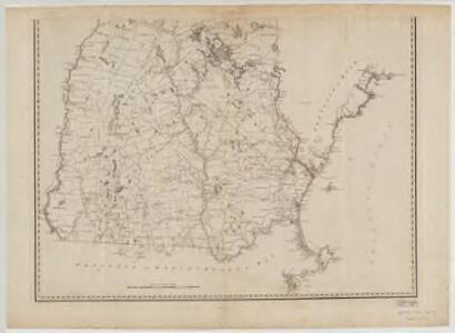 A topographical map of the Province of New Hampshire : Southern sheet