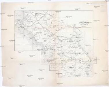 Sbornyje list 5-ti verstnoj karty Kavkaza