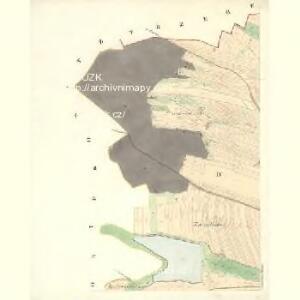 Podolly - m2326-2-004 - Kaiserpflichtexemplar der Landkarten des stabilen Katasters