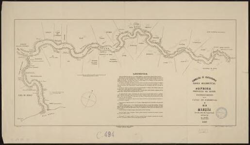 Costa Occidental d'Africa, Provincia da Guiné. Reconhecimento do Canal do Impernal e Rio Mansoa