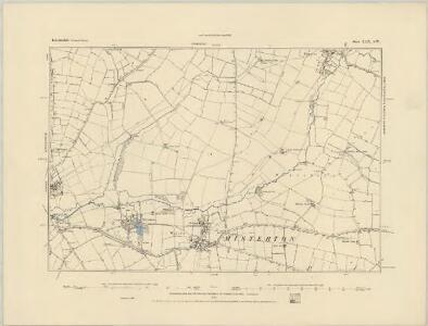 Leicestershire XLVI.NE - OS Six-Inch Map