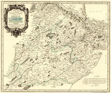 Sequani Partie des Archidconnes de Favernay et de Luxeuil du Dioecese de Besancon