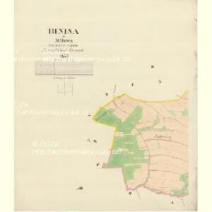 Binina - m0309-1-002 - Kaiserpflichtexemplar der Landkarten des stabilen Katasters