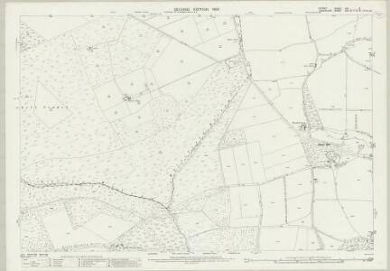 Dorset XVII.9 (includes: Alderholt; Fordingbridge; Harbridge and Ibsley) - 25 Inch Map