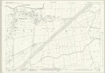 Cambridgeshire IV.2 (includes: Newton; Tydd St Giles; Tydd St Mary) - 25 Inch Map