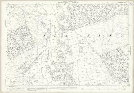 Lancashire XII.3 (includes: Haverthwaite; Staveley; Upper Allithwaite) - 25 Inch Map