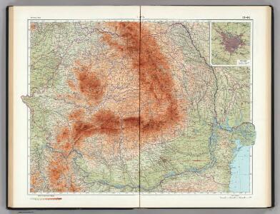 93-94.  Rumania.  The World Atlas.